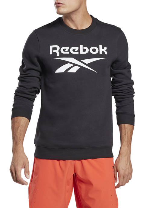 Reebok Identity Fleece Crew Graphic Sweatshirt