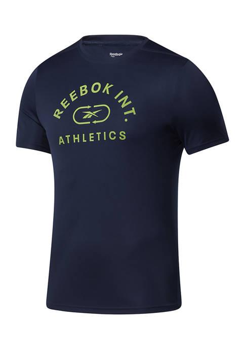 Reebok Varsity Logo Graphic T-Shirt