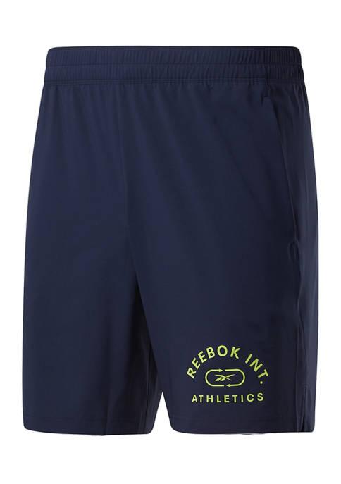 Reebok Mens Varsity Woven Shorts