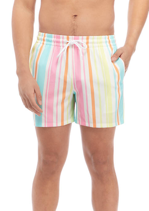 Cabana by Crown & Ivy™ Striped Woven Swim