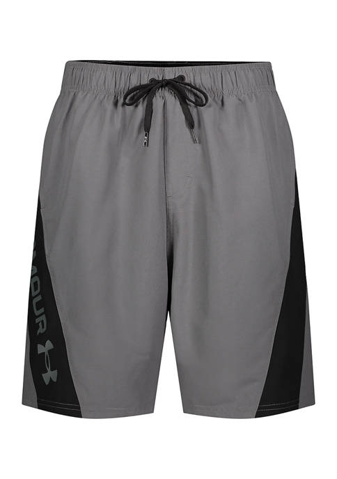 Under Armour® Boys 4-7 Angled Block Swim Shorts
