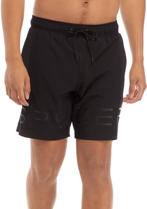 Solid Logo Volley Swim Shorts