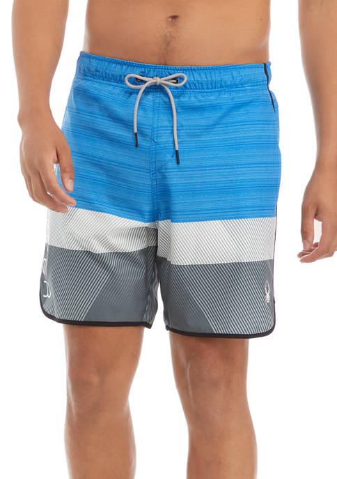 Color Block Volley Swim Shorts