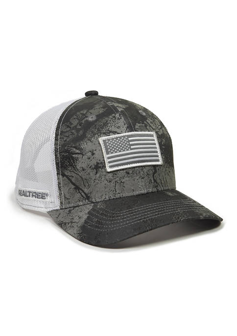 Ocean & Coast® Wave with American Flag Hat