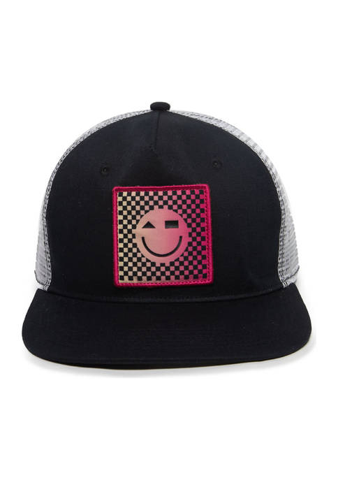 Cabana by Crown & Ivy™ Smiley Face Hat