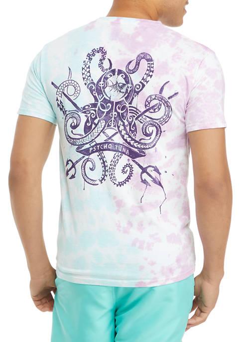 Psycho Tuna Octopus Tribe Graphic T-Shirt