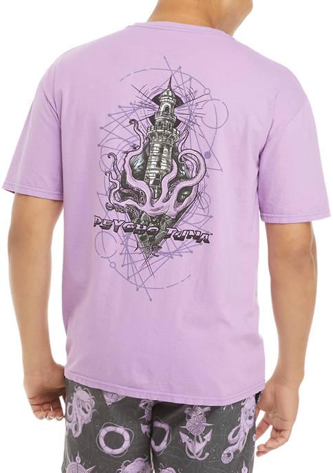 Geo Light House Graphic T-Shirt