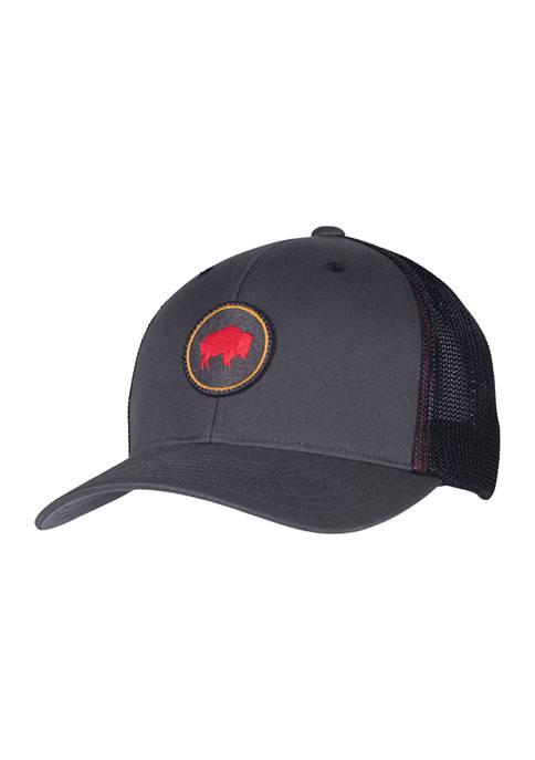 Bison Patch Trucker Hat