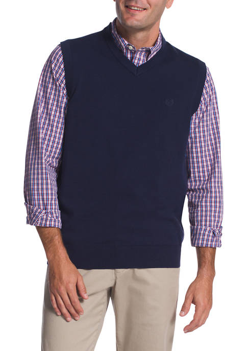 Chaps Sleeveless Sweater Vest