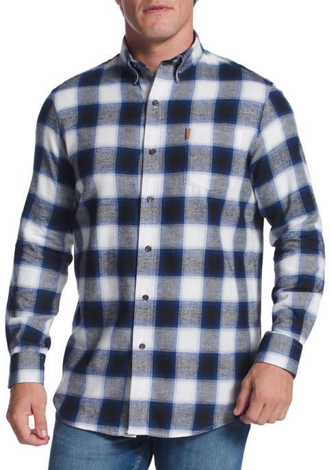 Chaps Long Sleeve Flannel Shirt