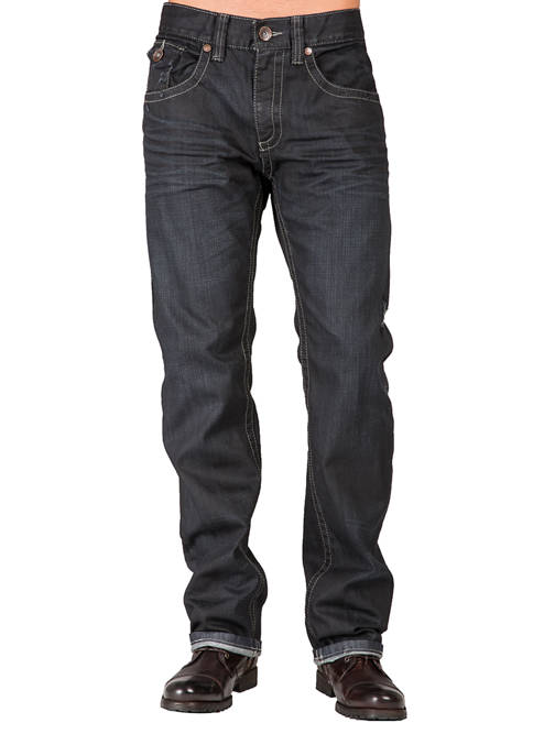 Relaxed Straight Premium Denim Jeans