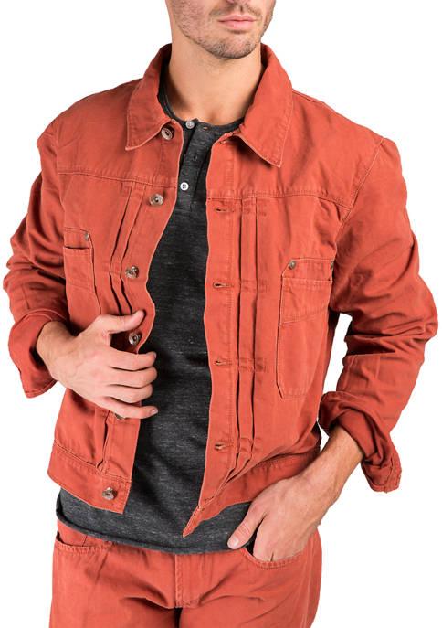 Rugged Cotton Trucker Jacket