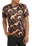 Short Sleeve Petal Tie Dye Swim T-Shirt