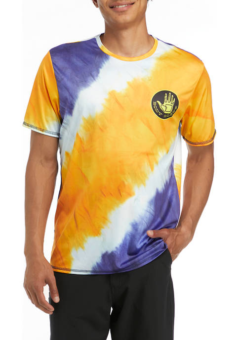 Body Glove® Mens Short Sleeve Tie Dye T-Shirt