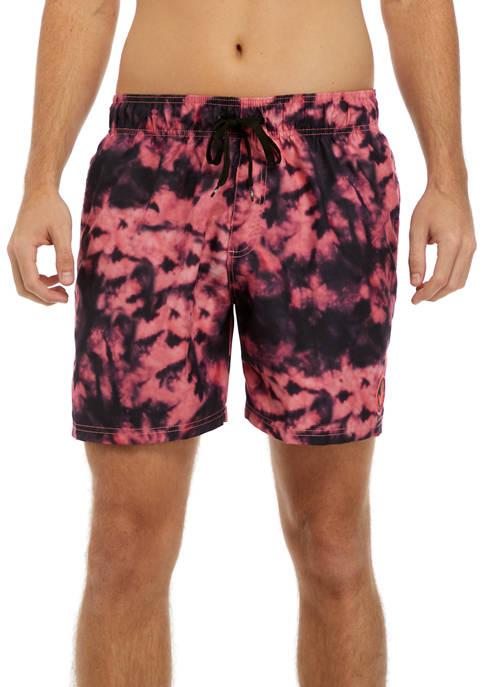 Body Glove® Mens Tiger Skin Tie Dye Swim