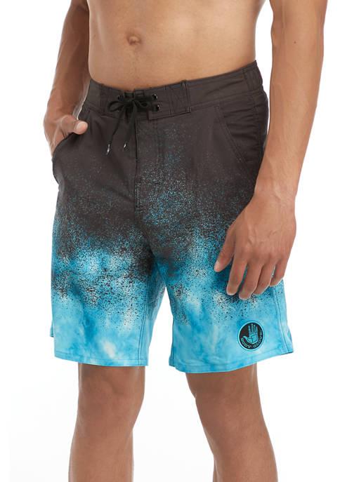 Body Glove® Splatter Dip Dye Swim Boardshorts