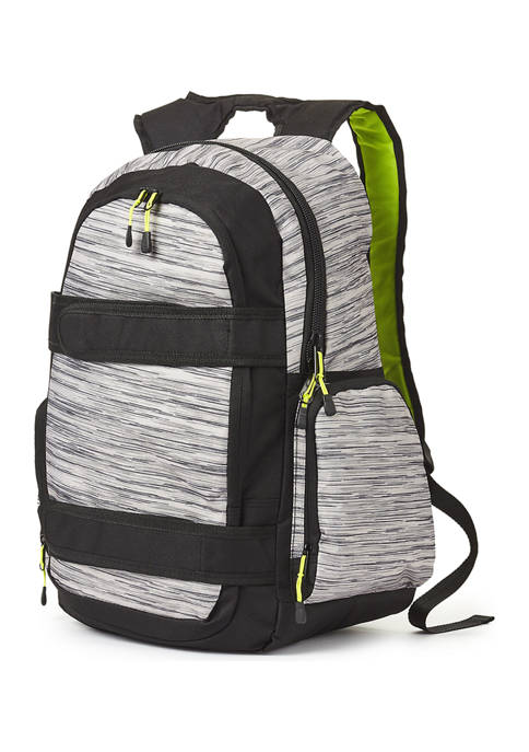 Gray Heather Skate Backpack