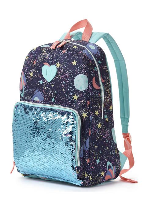 Galaxy Flip Sequin Backpack