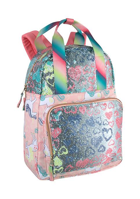 Rainbow Double Handle Backpack