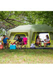 10 Person Instant Tent With Extended Eaves