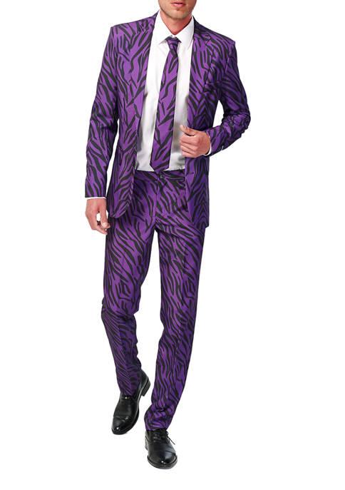 Suitmeister Pimp Tiger Animal Print Suit