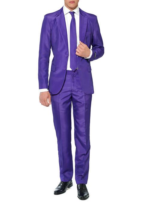 Solid Purple Color Suit