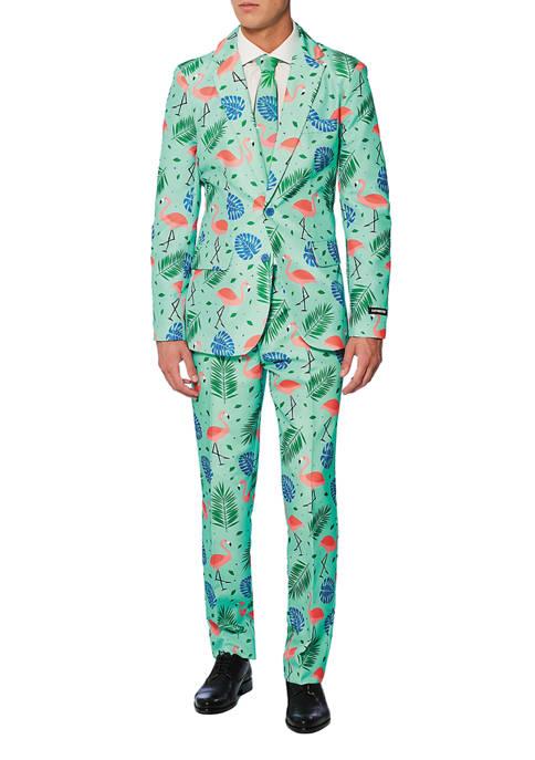 Tropical Flamingo Suit