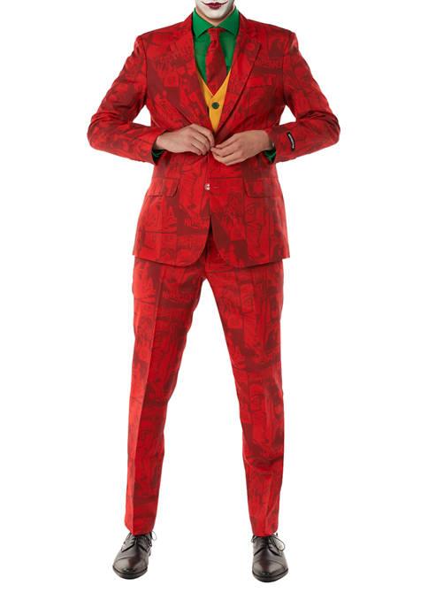 Scarlet Joker Licensed DC Comics Halloween Suit