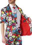 Casino Icons Poker Party Summer Suit