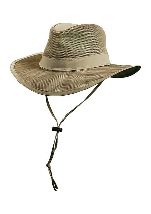 Supplex Mesh Safari Hat