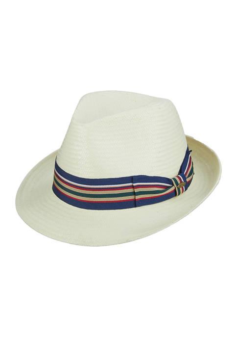 Toyo Fedora Hat with Ribbon