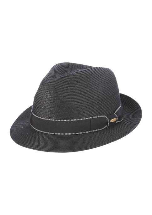 Scala™ Fine Paper Braid Fedora Hat
