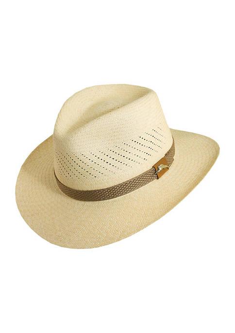 Panama Vent Safari Hat