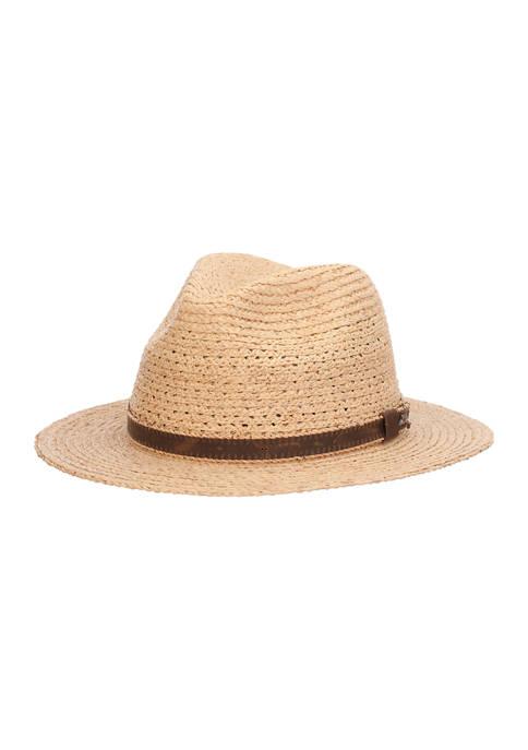Raffia Braid Safari Hat