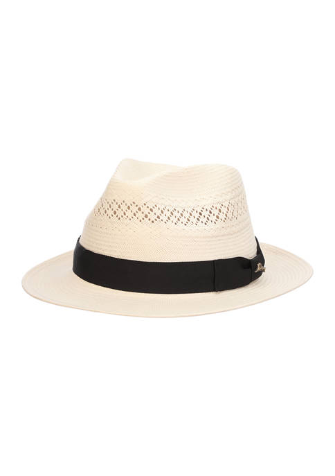 Shantung Fedora Hat