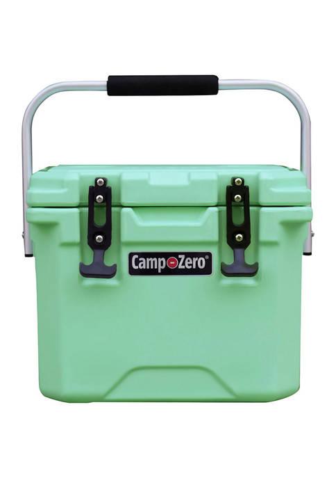 Camp-Zero 10.6 Quart Premium Cooler With Folding Aluminum