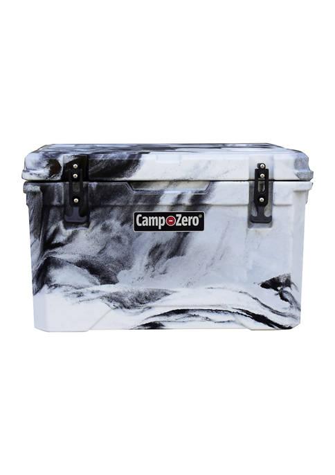 Camp-Zero 42 Quart Premium Cooler With Molded In