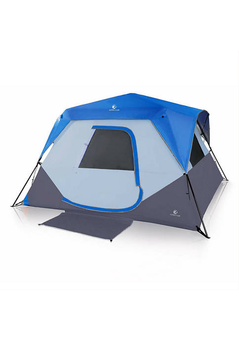 6 Person Waterproof Ventilated Family Camping Tent