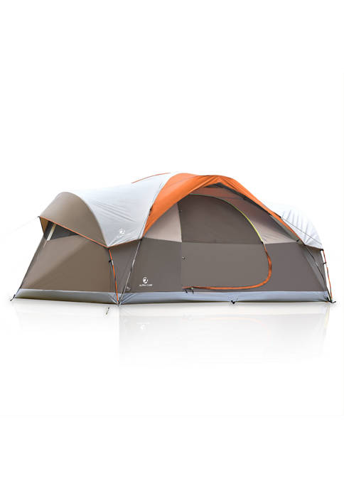 8 Person Waterproof Easy Setup Dome Family Camping Tent