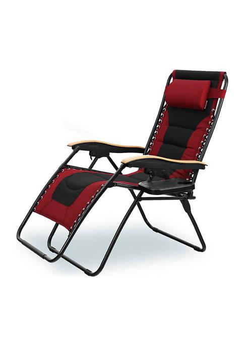 Phivilla Lufuma Folding Oversized Zero Gravity Lounge Chair