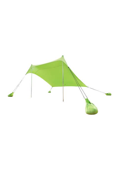 Portable Sun Shelter Beach Tent - Green