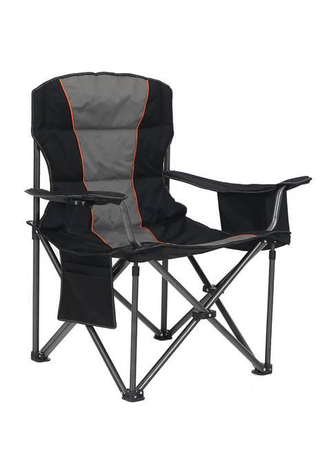 Alphacamp Folding Oversize Camping Chair With Cooler Bag