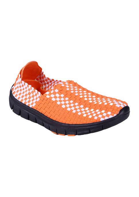 NCAA Oklahoma State Cowboys Woven Colors Comfy Slip On Shoes