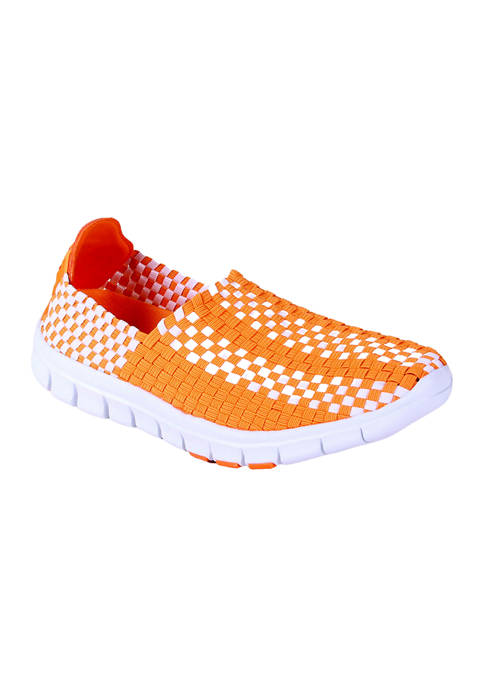 NCAA Tennessee Volunteers Woven Colors Comfy Slip On Shoes