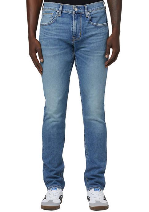 Hudson Denim Juniors Blake Slim Straight Waves Jeans