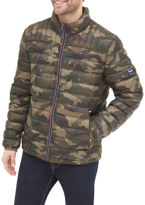 Quilted Nylon Packable Jacket