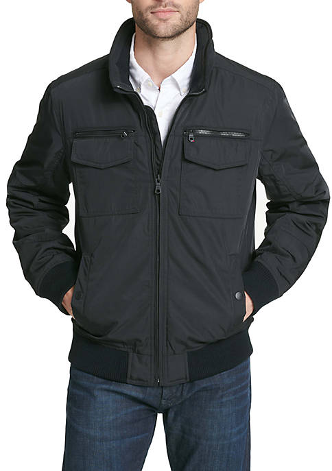 Two Pocket Filled Performance Bomber Jacket