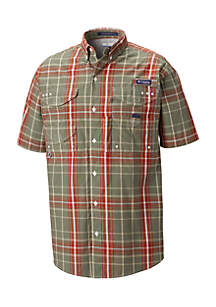 Big & Tall PFG Super Bonehead™ Classic Short Sleeve Shirt