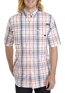 Big & Tall PFG Super Bonehead™ Classic Short Sleeve Shirt