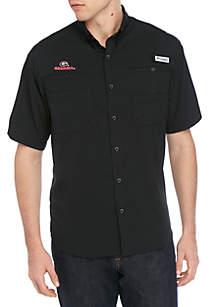 Columbia Collegiate Tamiami Short Sleeve Shirt